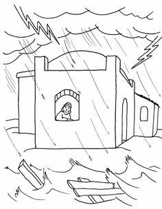 The house built on rock (Matthew 7)