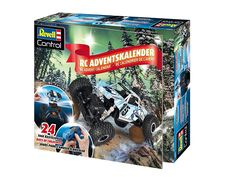 Revell RC advent calendar 2017. Build your own RC car! Available from Amazon.de.