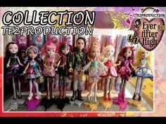 Collection Ever After High Basic - YouTube