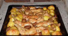 Lahodné prezidentské řízky z jednoho plechu - Empanadas, Pho, Curry, Potatoes, Chicken, Vegetables, Diet, Bulgur, Curries