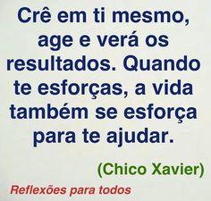 REFLEXÕES PARA TODOS: Chico Xavier