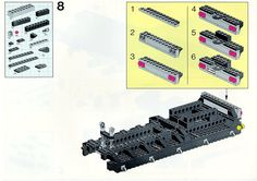 LEGO 5590 Whirl and Wheel Super Truck instructions displayed page by page to help you build this amazing LEGO Model Team set Lego Technic Truck, Lego Basic, Lego Sets, Lego Models, Lego Instructions, Planer, Projects To Try, Trucks, Tutorials