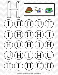 Your little one will love this uppercase do a dot letter printables series! There is a do a dot printable for each uppercase letter of the alphabet. Free Printable Math Worksheets, Printable Letters, Alphabet Worksheets, Alphabet Activities, Reading Activities, Kindergarten Worksheets, Dot Letters, Tracing Letters, Do A Dot