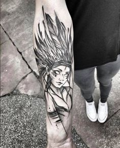 Taino Indian Tattoos - The Timeless Style of Native American Art - Tattoo Shops Near Me Local Directory Great Tattoos, Beautiful Tattoos, Leg Tattoos, Arm Tattoo, Body Art Tattoos, Sleeve Tattoos, Tattoos For Guys, Tatoos, Sketch Style Tattoos