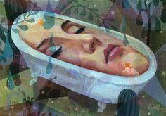 More Illustrations by Alice Wellinger, via Behance