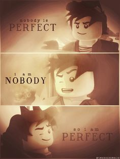 "• #LEGO #NINJAGO  [ ""Nobody is perfect. I am nobody, so I am perfect"" ] #quote  • #Kai #KaiSmith  • My Edit. Hope you'll like it! :-)"