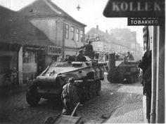 Sd.Kfz. 251/16 mittlere schutzenpanzerwagen with flamers.