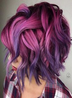 34 beautiful purple to pink hair color ideas - Hair Color I . - 34 beautiful purple to pink hair color ideas – Hair Color I … 34 beautiful purple to pink hair color ideas – Hair Color I … Hair Color Pink, New Hair Colors, Blonde Color, Cool Hair Color, Pink Purple Hair, Unicorn Hair Color, Creative Hair Color, Vivid Hair Color, Bright Hair Colors