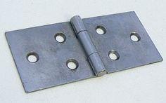 Backflap Hinges, Steel (Pair)