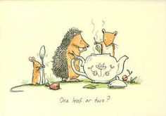 One leaf or two? by Anita Jeram