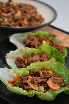 Mrs Ellwood's Simple Life: Chinese Pork Lettuce Wraps- We must double this next time! D-lish! Cookbook Recipes, Paleo Recipes, Asian Recipes, Ethnic Recipes, Chinese Recipes, Yummy Recipes, Chinese Lettuce Wraps, Taco Lettuce Wraps, Chinese Pork