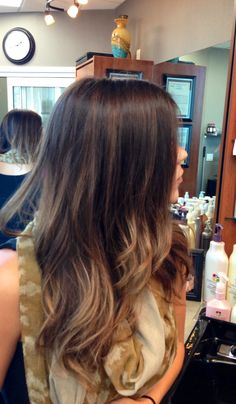 Brunette ombré (may be able to pull this off)