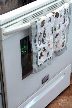 How to Clean INSIDE Your Oven Door