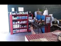 COMPLETE! Before & After - Pottery Studio Remodel Tour! [140404] - YouTube