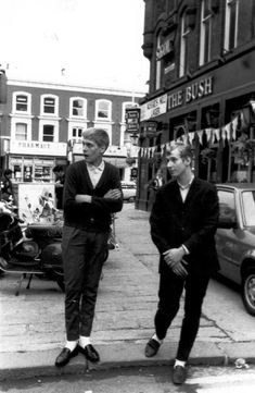 80s Mods 1 - White socks and loafers - we thought it was cool then