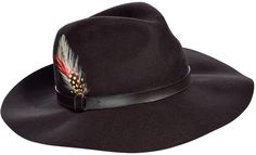Next thing on my list of things to buy:  Barbour The Fedora Chocolate Wide Brim Hat