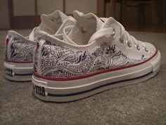 That pair of Converse you wouldn't stop drawing on.