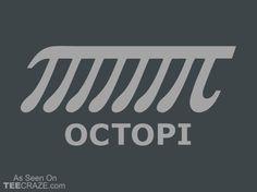 Octopi T-Shirt - http://teecraze.com/octopi-t-shirt-3/ -  Designed by Snorg Tees    #tshirt #tee #art #fashion #TCRZ #clothing #apparel