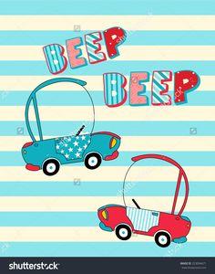 cute  car vector illustration