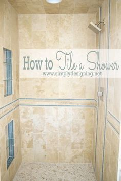 Strategy, tricks, as well as guide with regard to obtaining the most ideal result as well as making the maximum use of Diy Shower Remodel Bathroom Renos, Bathroom Renovations, Home Renovation, Small Bathroom, Master Bathroom, Home Remodeling, Bathroom Ideas, Shower Bathroom, Diy Shower