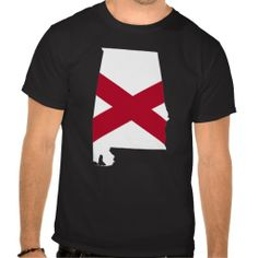 Alabama Flag Colors Shirts