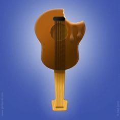 Ice cream guitar