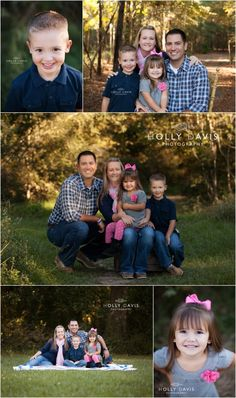 Outdoor Family Session, What to Wear, Family of 4 Posing Holly Davis Photography |  The Woodlands, TX
