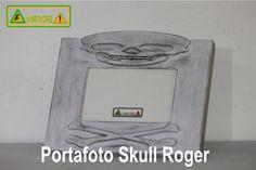 Portafoto Skull Roger