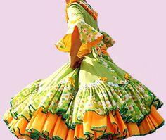 Huasa chilena, Vestidos de china! Bird Prints, No Frills, Designer Dresses, Beautiful Dresses, Aurora Sleeping Beauty, Women's Fashion, Sewing, Craft, Hillbilly