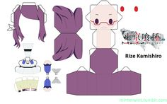 papercraft tokyo ghoul - Buscar con Google