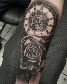 54 Mejores Imágenes De Tatuajes Reloj De Bolsillo Tattoo Clock