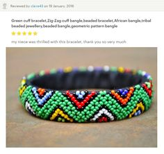 Beaded jewellery from Cape Town, South Africa by akwaabaAfrica Beaded Jewelry, Beaded Bracelets, Etsy Seller, Shops, Bangles, Pattern, Bracelets, Tents, Pearl Jewelry