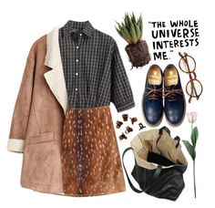 """""""fawn"""" by ahvela ❤ liked on Polyvore"""