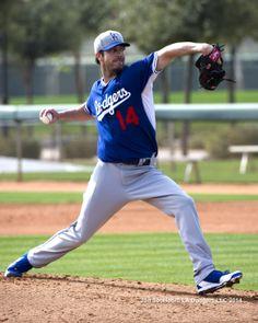 Dan Haren Los Angeles Dodgers workout 2/19/14