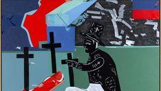 Le voyage d'Hector Hyppolite en Afrique, 2000 © Hervé Télémaque Artiste Haïtien