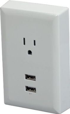 Amazon.com : RCA WP2UWR USB Wall Plate : Electrical Distribution Wall Plates : Electronics