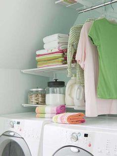 how i want my laundry room