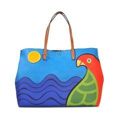 TORY BURCH Kerrington Parrot Tote. #toryburch #bags #hand bags #tote #