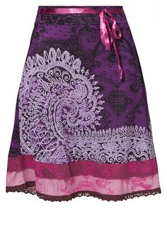 purple skirt Desigual