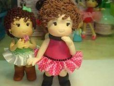 passo a passo da boneca fofa em biscuit - vibiscuit - YouTube