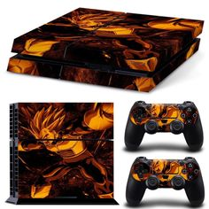 1. Made of excellent PVC decal skin stickers for PlayStation 4 console controller, 2. Effortlessly clean with damp fabric. No sticky glue to mess with. 3. Digitally outlined and cut for an ensured fit. Enhance the looks of your Sony PlayStation 4 console with our Dragonball Z PS4 console skin and PS4 controller skins. All PS4 console skins and PS4 controller skins have the accompanying components:     Fantastic, full shading, anti-slip Vinyl sticker  Meager and solid - sealant against…