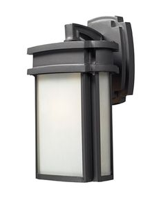 "57% OFF Artistic Lighting Sedona 1 Light 13"" Outdoor Sconce, Graphite"