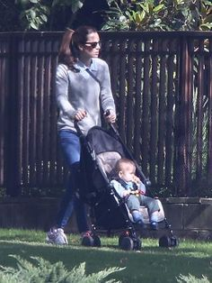 21.04.2014 The Duchess of Cambridge on a day off, strolling around the pristine grounds of Government House with her young son George, in Canberra