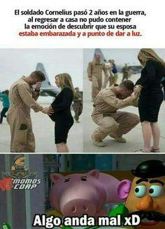 Funny V, Daily Funny, Funny Posts, Funny Memes, Hilarious, Spanish Jokes, Humor Mexicano, Pinterest Memes, Funny Birthday Cards