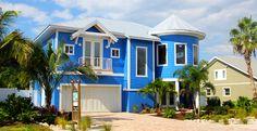 New Coastal beach home by Beach to Bay construction in Holmes Beach