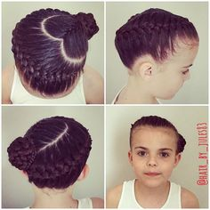 Gorgeous Tallulah also ready for the @quatroleotards #sparkle event in Leeds tomorrow with the amazing @elliedownie #hairbyjules #hairstyle #hairstyles #hairstylesforgirls #braid #braids #braidsforgirls #instabraid #frenchbraid #heart #heartbraid
