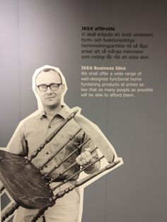 IKEA museum in Almhult, Sweden - It all started with an idea, 70 years ago...