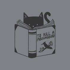 To Kill a Mockingbird by Tobe Fonseca #cats #funny