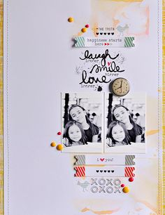 #papercraft #scrapbook #layout. The Truth by ~Sasha, via Flickr