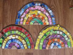 Making Rainbows!   Pre-school Play